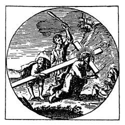 Sonata IX in a, Carrying the Cross