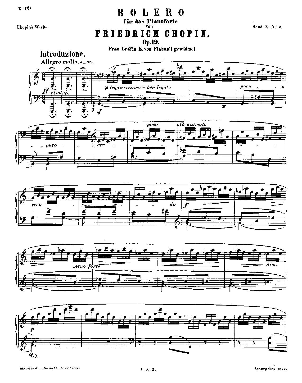 Chopin, op. 19