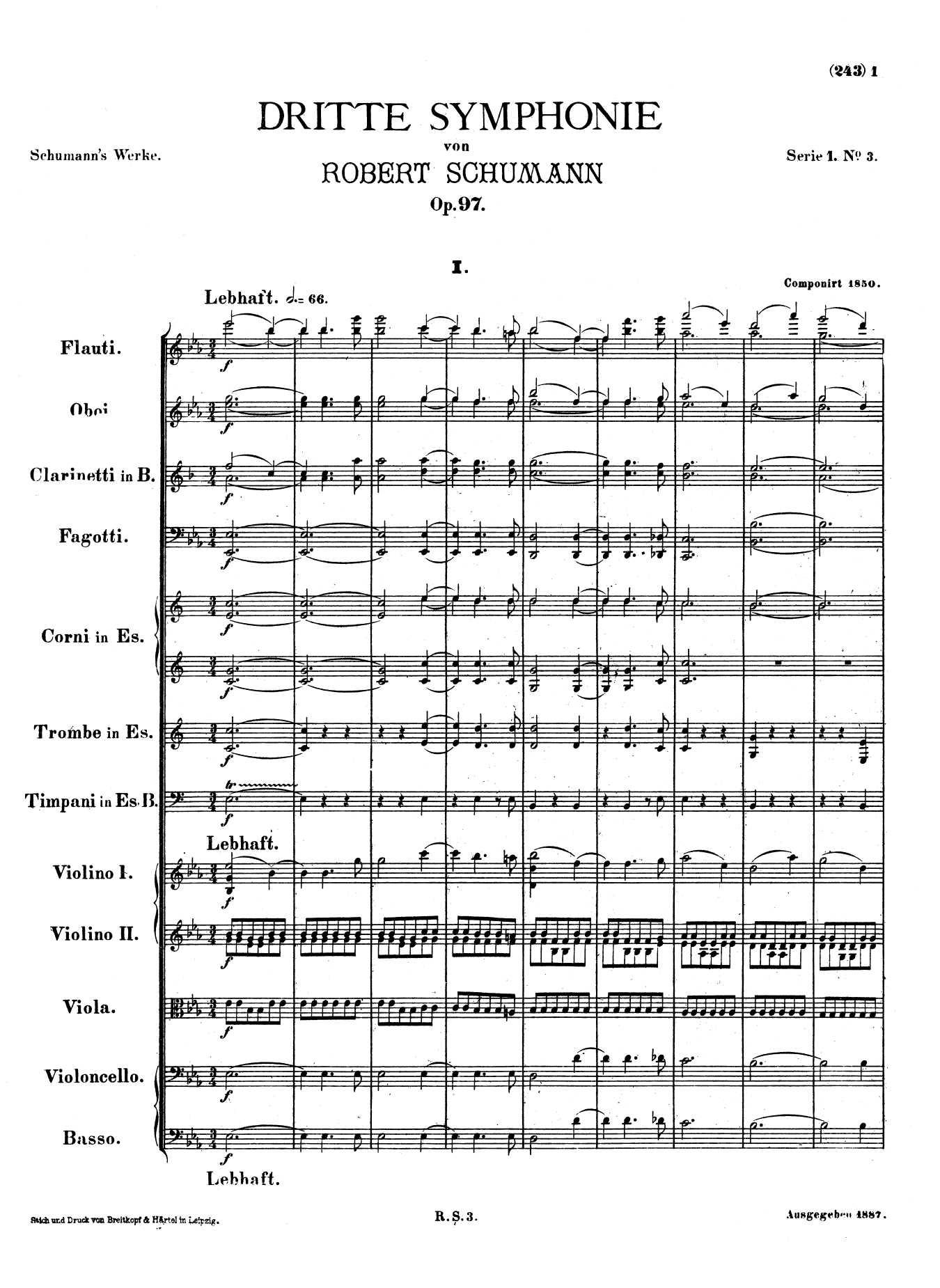 Schumann, op. 97