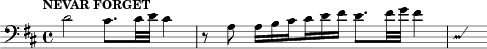 \relative d'