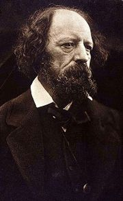 1869 photograph of Alfred, Lord Tennyson (1809–92)