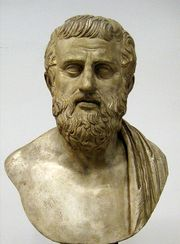 Bust of Sophocles (fl.496–406 BCE)