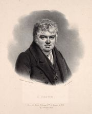 Portrait of Hieronymus Payer, before 1839