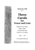 TN-3 Carols for Tenor and Lute, mj124 (Hill, Malcolm).png