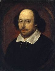 The Chandos portrait of William Shakespeare, ca.1610