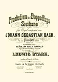 Stark, Ludwig - Transcription - Bach - Praeludium und Doppelfuge in A minor BWV 551.jpg