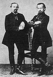 Franz and Karl Doppler (right)