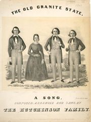 The Hutchinson Family Singers