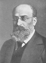 Photograph of Guido Adler, 1904