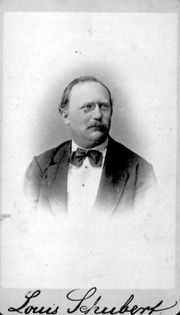 Louis Schubert (1828 - 1884)