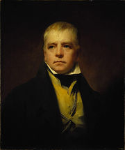 Portait of Sir Walter Scott, 1822