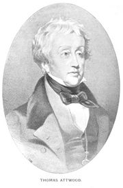 Thomas Attwood (? - 1838)