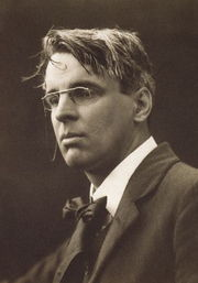 Photograph of William Butler Yeats, July 1911