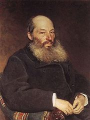 Portrait of Afanasy Fet by Ilya Repin (1892)