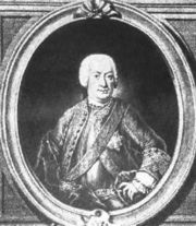 Johann Gottlieb Goldberg (? - 1756)