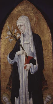 Saint Catherine of Siena (1347 - 1380)