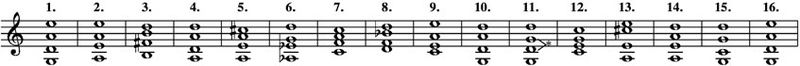 Tunings for the 15 Mystery Sonatas and Passacaglia