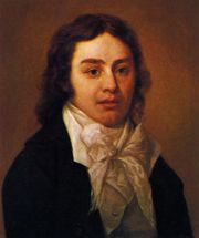 Portrait of Samuel Taylor Coleridge, 1795