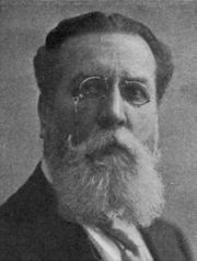 Arnold Sartorio (1853–1936). Photo from Cover of September 1912 Issue of The Etude Magazine