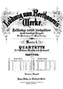 Beethoven - String Quartets Breitkopf Vol1.png