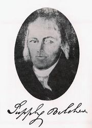 Supply Belcher (1751 - 1836)