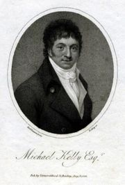 Michael Kelly (1762 - 1826)