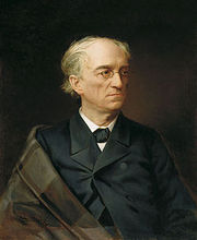 Fyodor Tyutchev, in a portrait by Stepan Aleksandrovsky