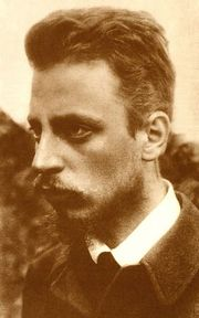 Photograph of Rainer Maria Rilke (1875–1926), 1900