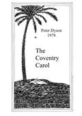 TN- Peter Dyson Carol 1978 The Coventry Carol thumbnail.jpg