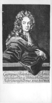 Georg Christian Lehms (? - 1717)