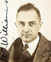 William Carlos Williams (1883 - 1963)