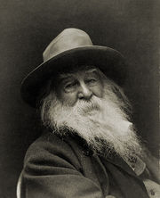 Picture of Walt Whitman, 1887