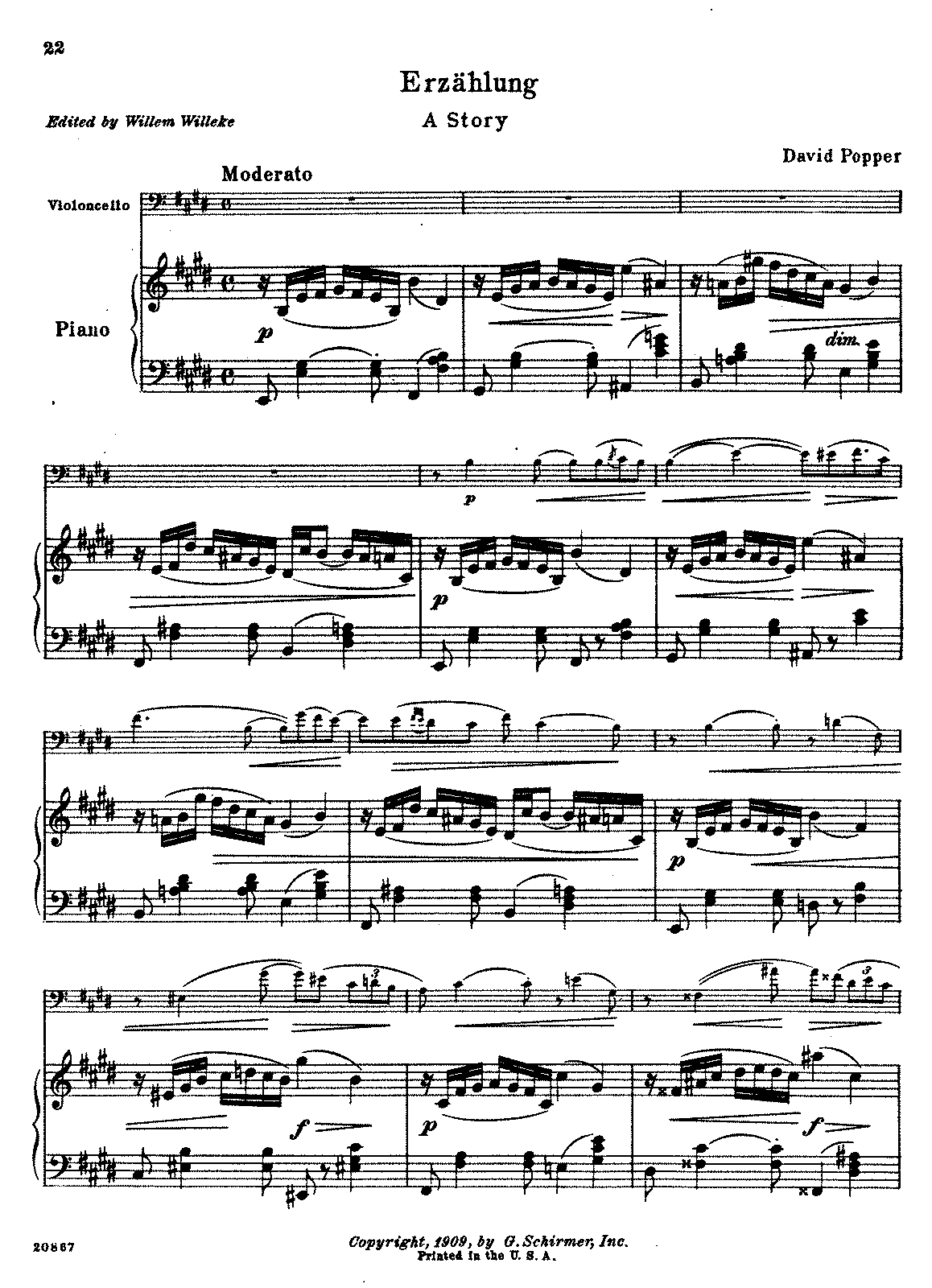 PMLP46465-Popper - Erzahlung - A Story Op3 No3 (Willeke) for cello and piano.pdf