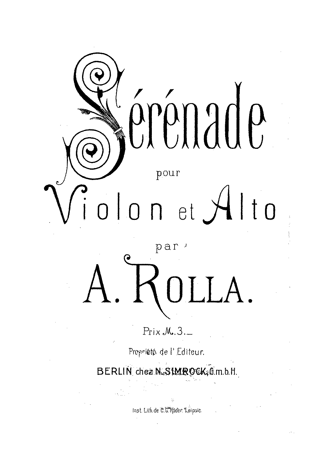 PMLP47889-Rolla Ales. Serenade Op.8 BI 68 for Violin and Viola Parts and Manuscript.pdf