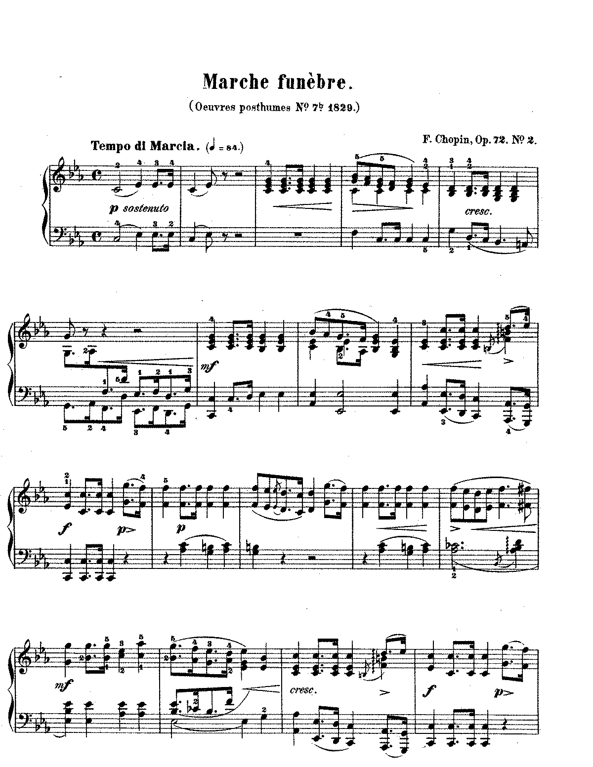 Chopin - Funeral March, Op 72.pdf