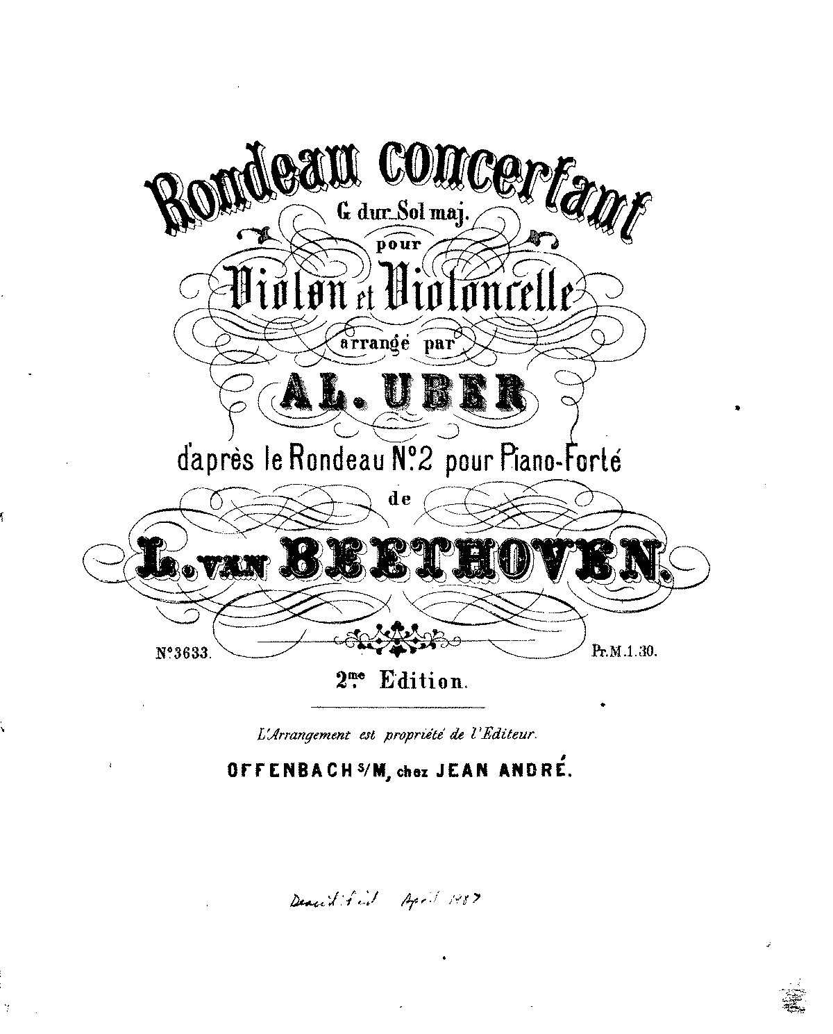 PMLP44645-Beethoven - Rondeau Concertant in G Major for Violin and Cello (Uber) Op51 No2 violin.pdf
