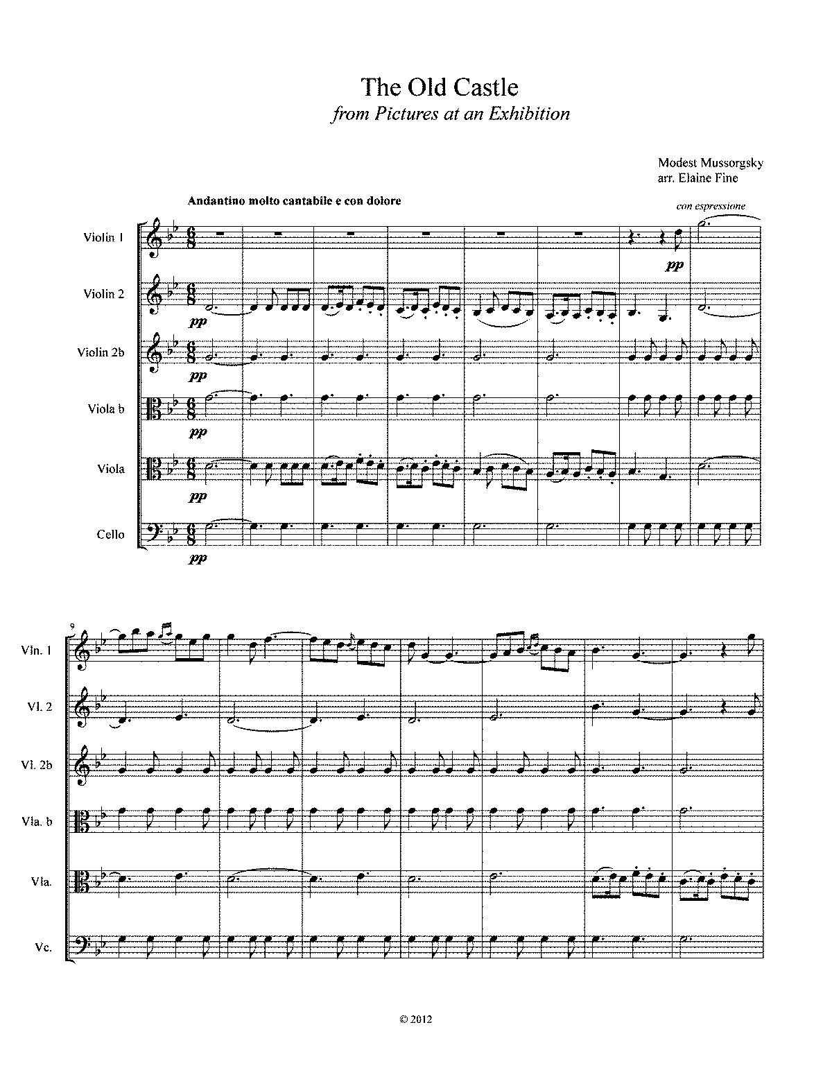 PMLP03722-The Old Castle for Strings Score and Parts.pdf