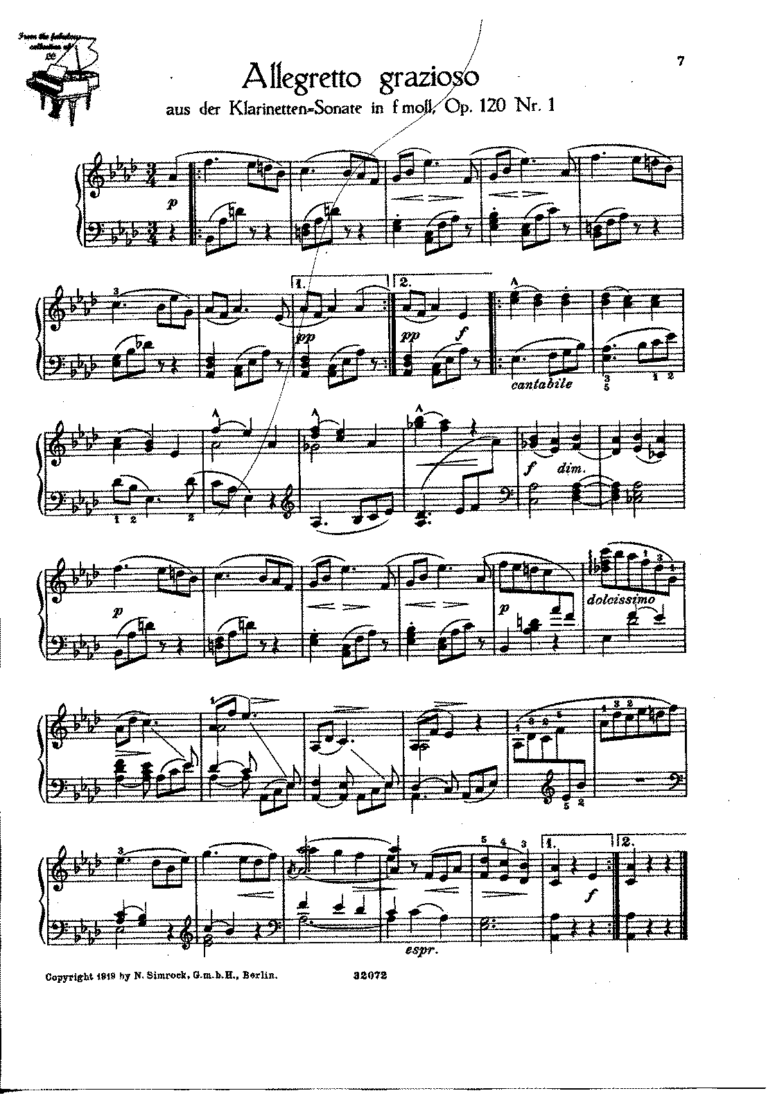 Brahms - 120 n.1 - Clarinet Sonata f - Allegretto (2H Laurischkus) new.pdf