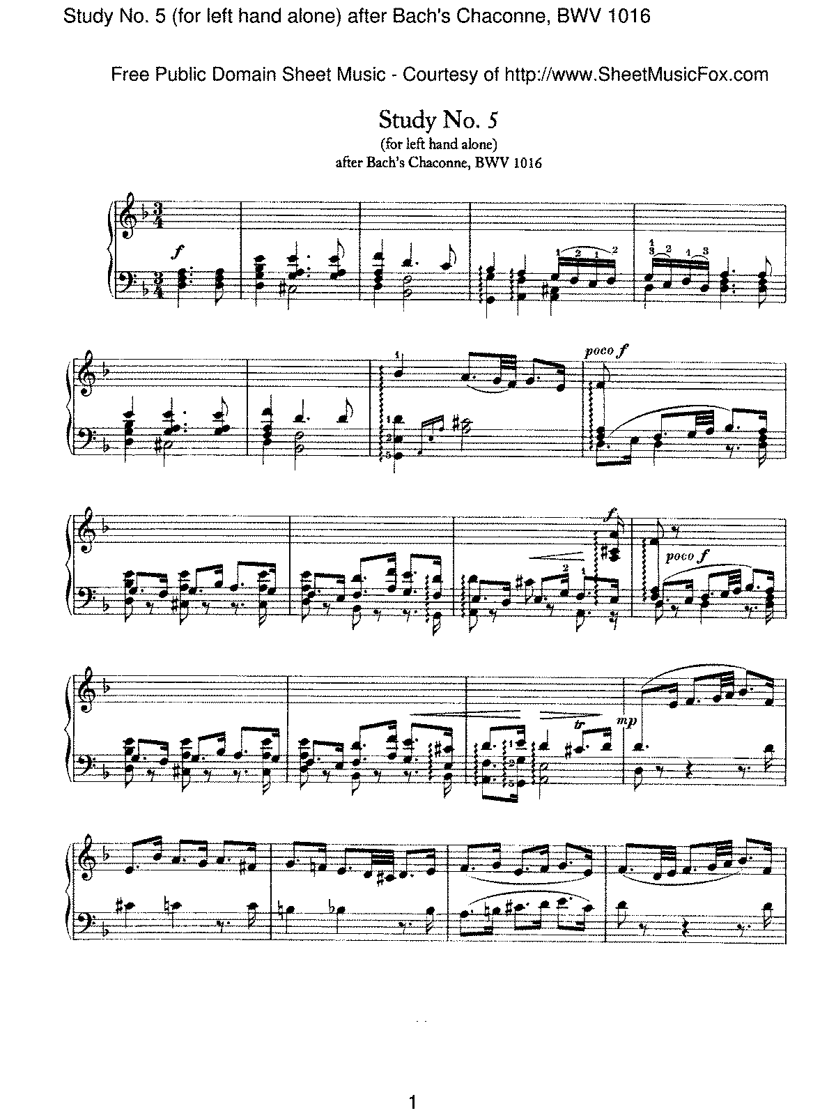 Brahms - Study No.5 (for left hand alone) after Bach's Chaconne, BWV 1016.pdf