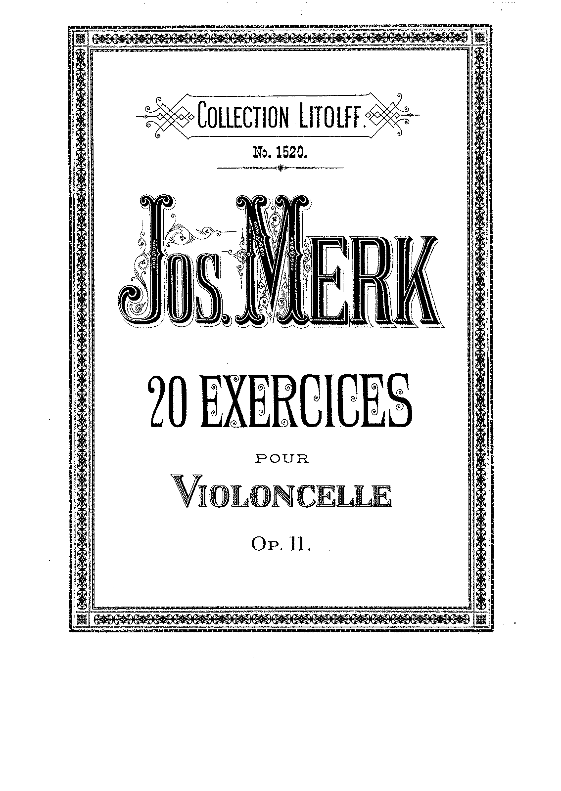 PMLP177765-Merk - 20 Exercices for Cello Op11.pdf