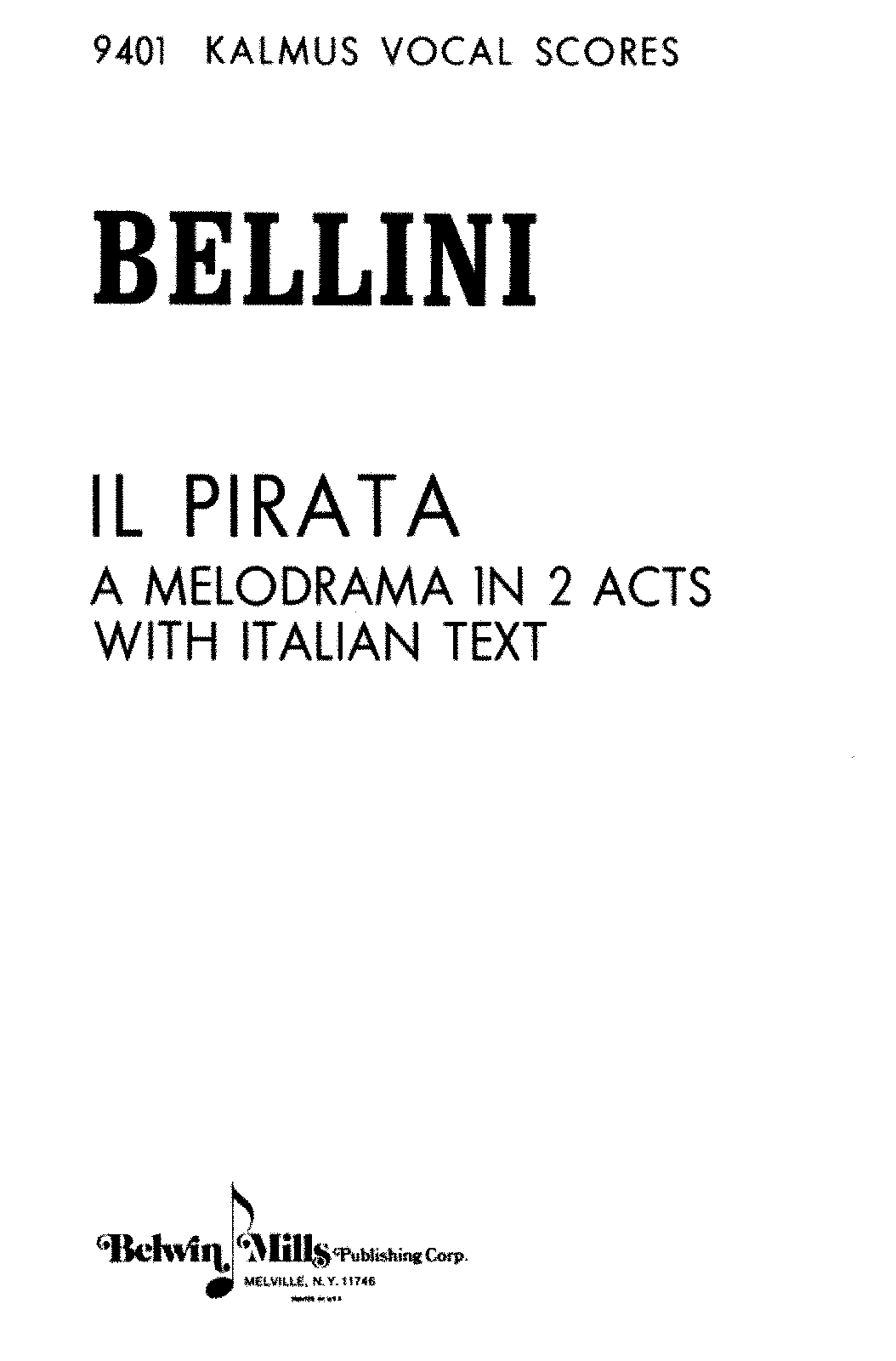 PMLP58186-Bellini - Il Pirata - Vocal Score .pdf