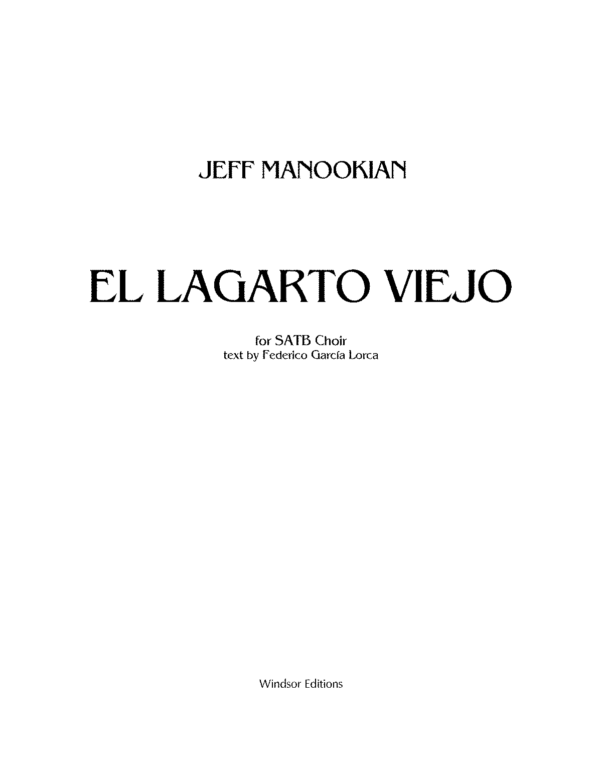 PMLP118525-EL LARGARTO VIEJO - for SATB Choir.pdf