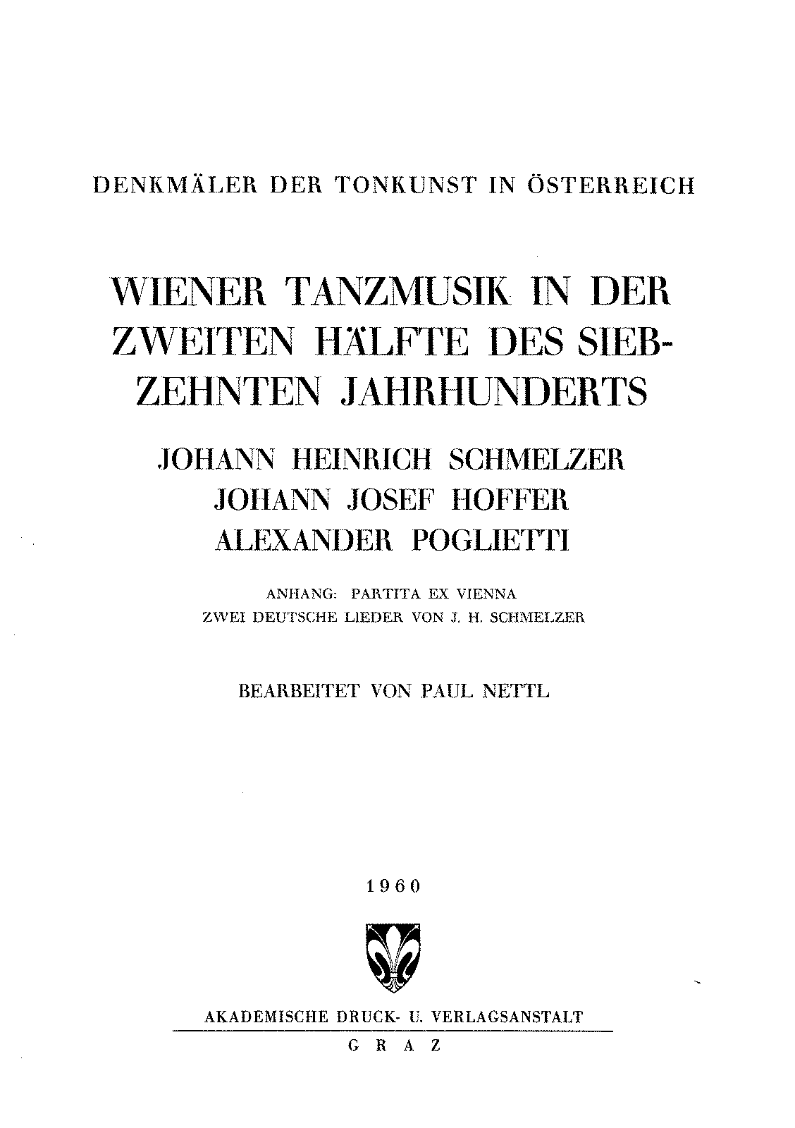 PMLP131092-Schmelzer, Johann Heinrich and others - Viennese Dance Music in the second half of 17th Century (DTO 56).pdf