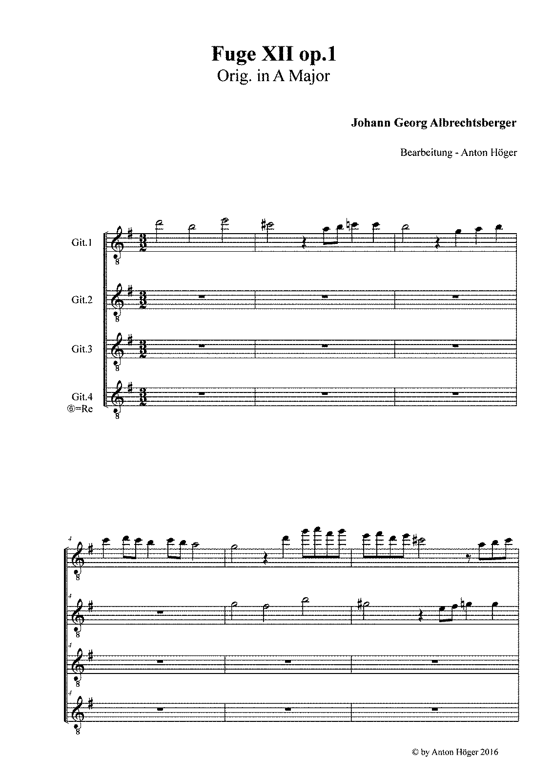 PMLP180830-Albrechtsberger - Fuge XII in A Major op 1.pdf