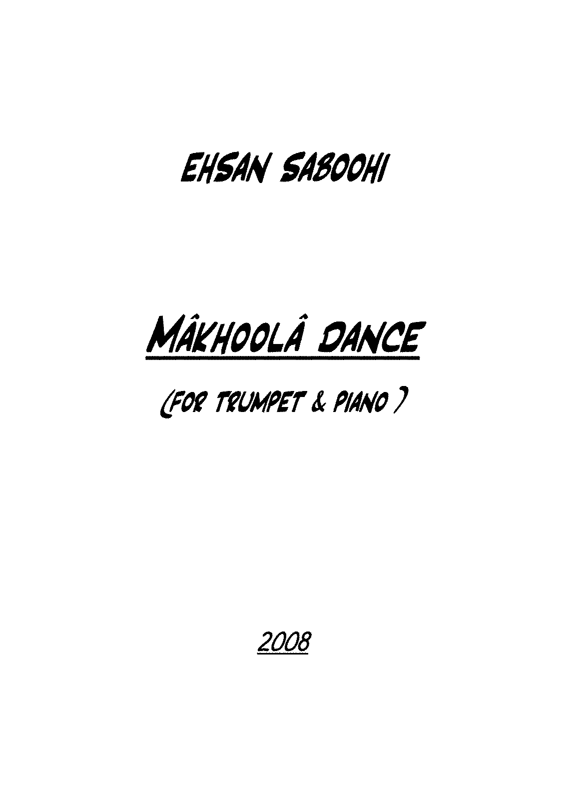 PMLP69310-MAKHOOLA DANCE ((FOR TRUMPET & PIANO ).pdf