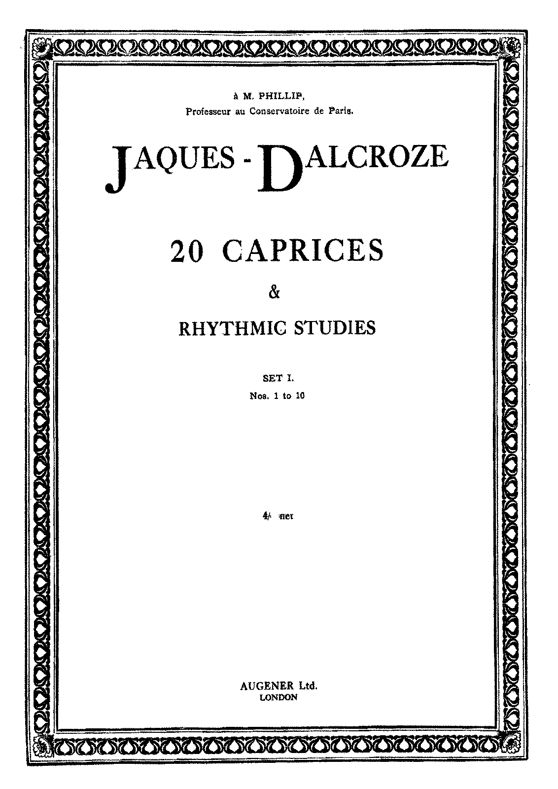 PMLP592176-Jaques-Dalcroze - 20 Caprices and Rhythmic Studies - Cah.1.pdf
