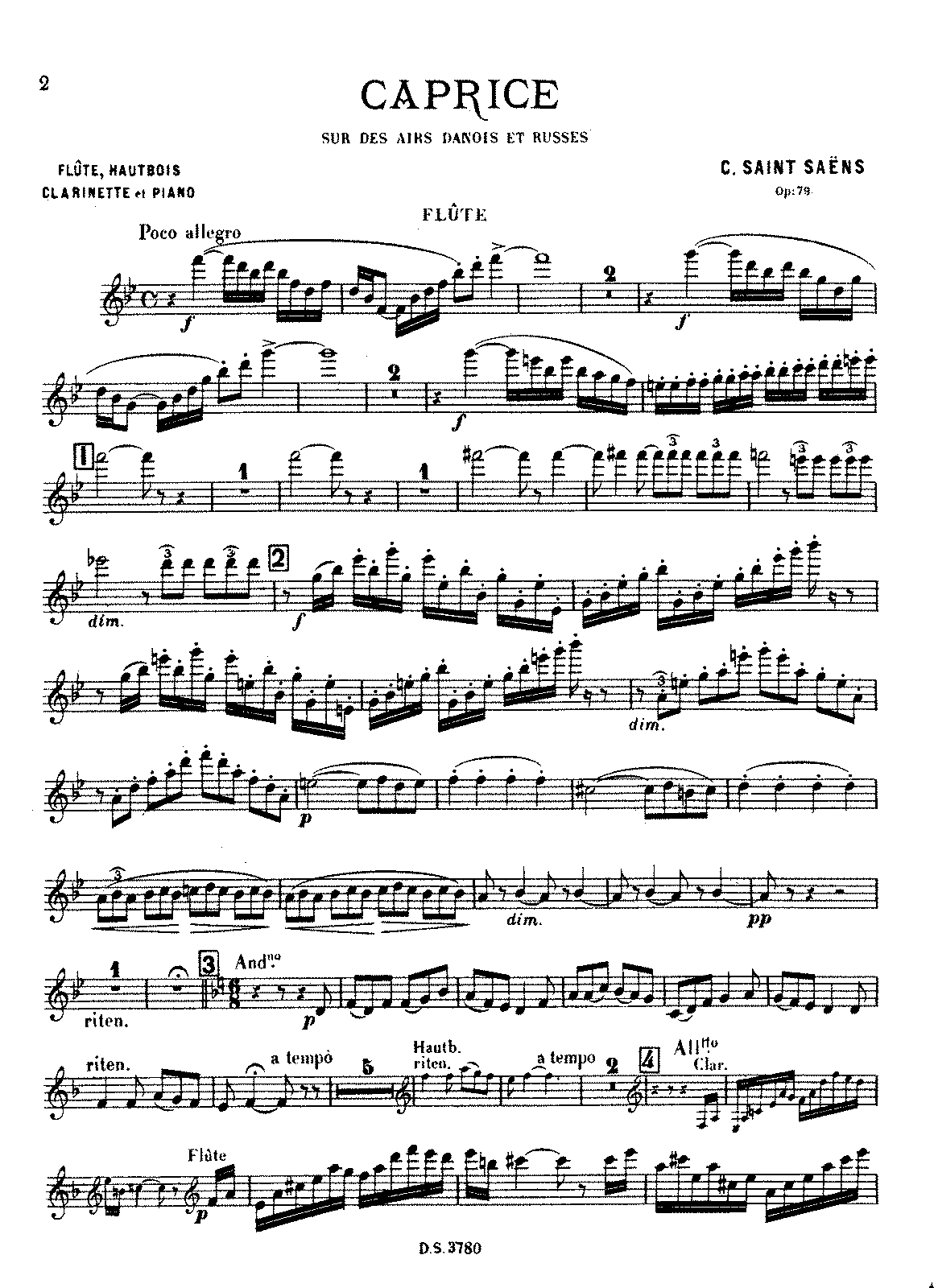 Saint-Saëns - Caprice, Op.79 (Fl, Ob, Cl and Piano).pdf