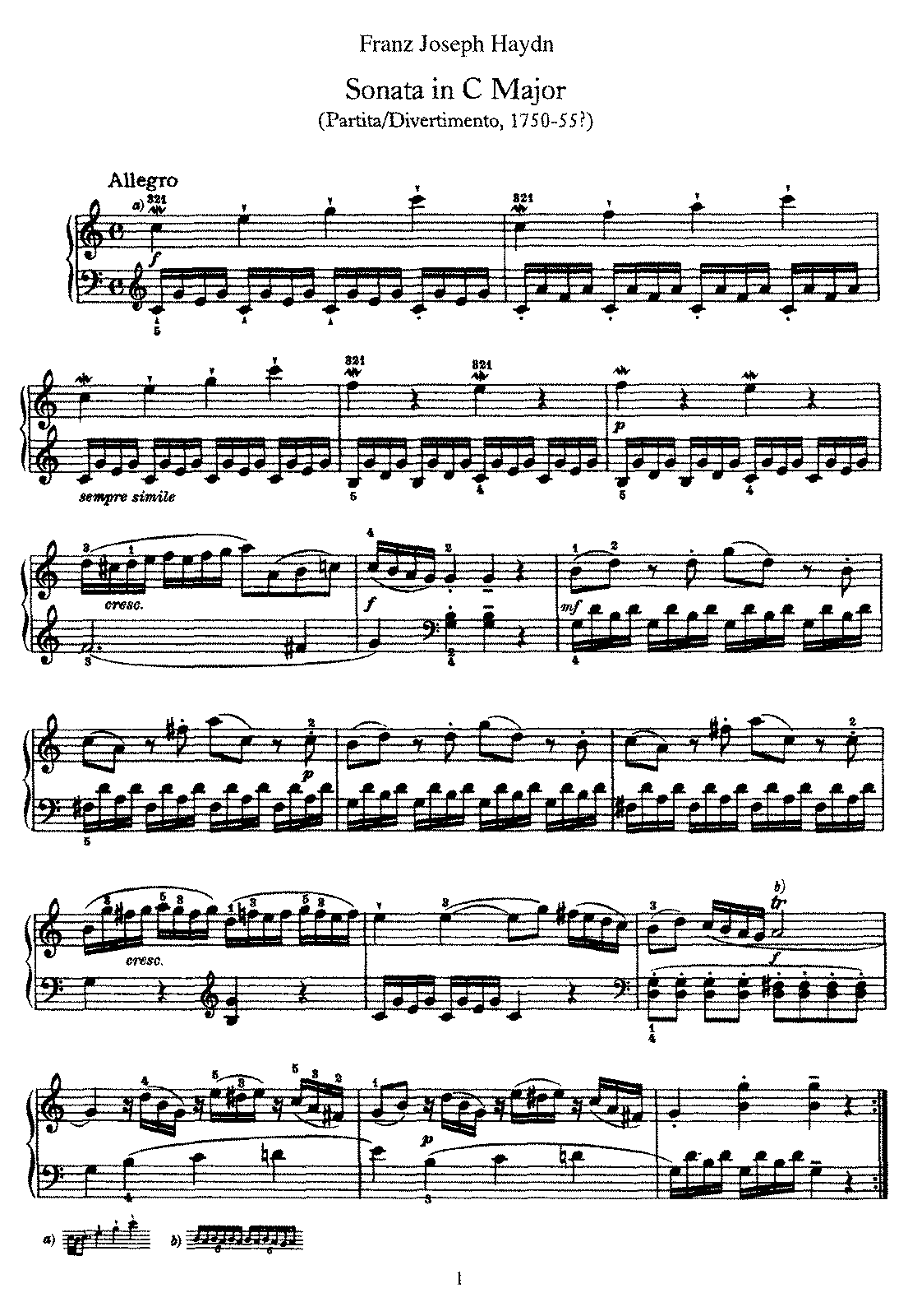 Piano Sonata No 1 in C.pdf