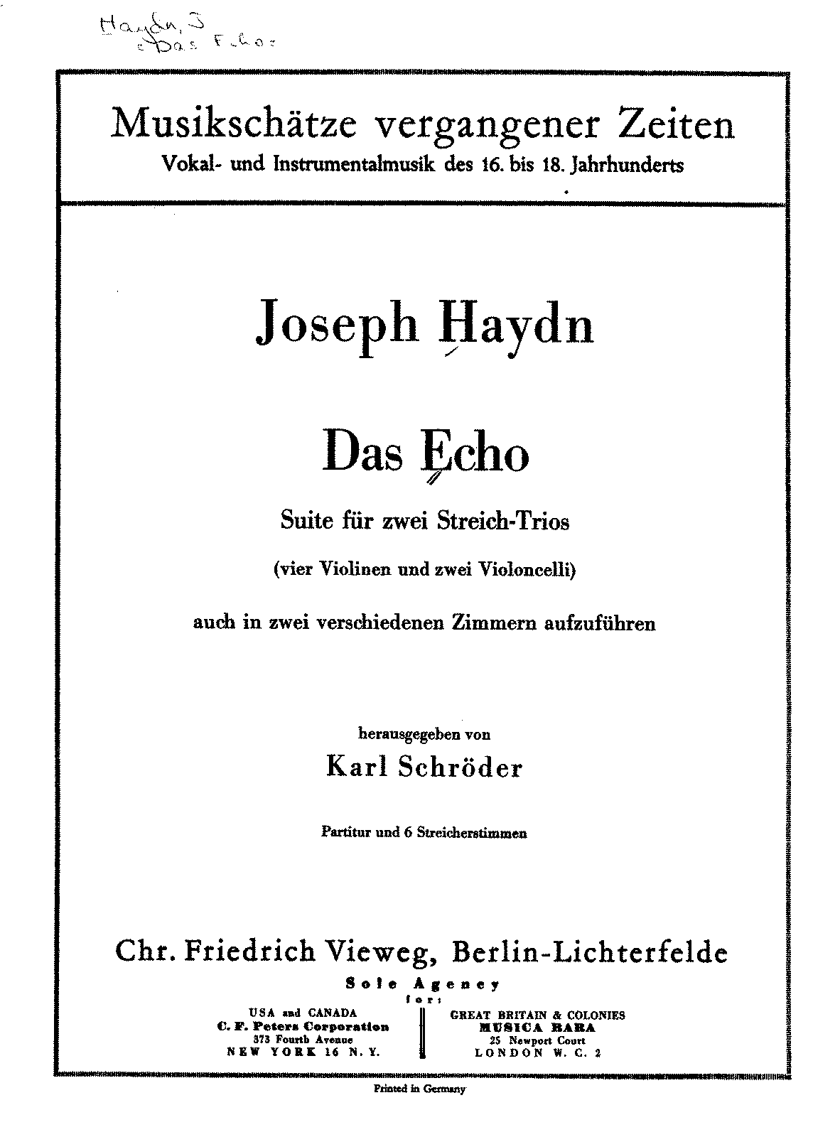 PMLP159858-Haydn - Das Echo Suite for 4 Violins and 2 Cellos (Schroeder) score.pdf