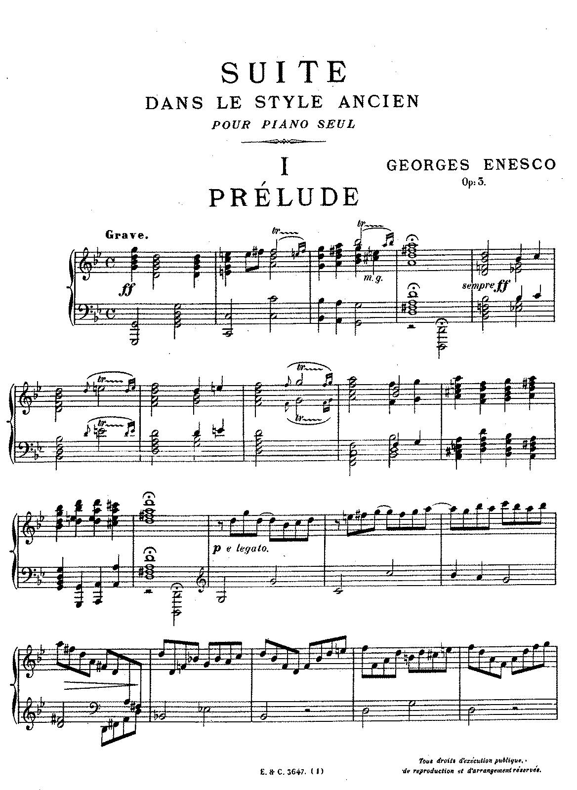 Enescu - Op.3 - Suite in the Old Style.pdf